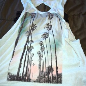 A muscle tank top